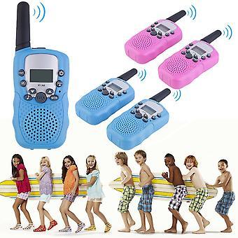 2pcs Rt-388 Walkie Talkie 0.5w 22ch Two Way Radio For Kids Children Gift