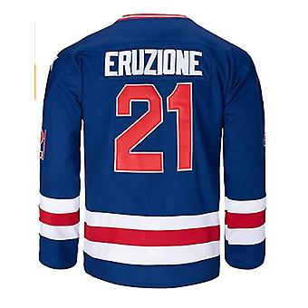 Olympique américain 1980 Hommes #21 Mike Eruzione #17 O'callahan #30 Jim Craig Miracle On Ice Usa Hockey Jersey