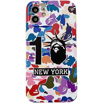 Iphone 12 Pro Colorful New York Case