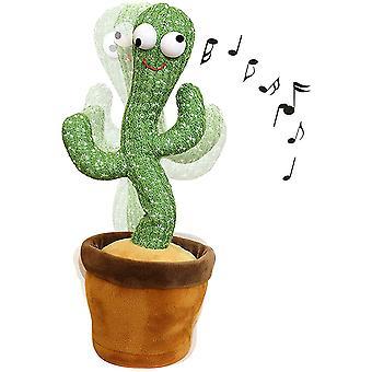 Chanter et danser Cactus Peluche Toy Enregistrement, Enfants jouant, 1pc