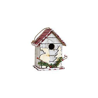 クリスマスアウトドアウッドクリスマスパーティーの装飾ハンドメイド木製クラフトメールボックスホーム装飾