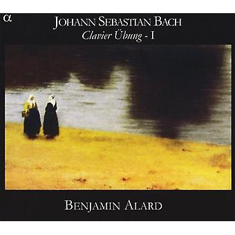 J.S. Bach - Johann Sebastian Bach: Clavier  Bung, Vol. 1 [CD] USA import