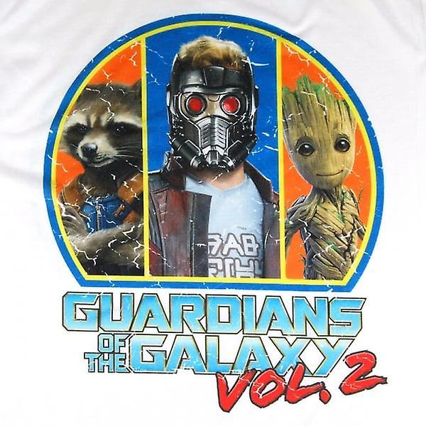 Gardiens de la galaxie gardiens de T produit Résumé (mots: 0) he Galaxy Vol. 2 Squad T Shirt blanc