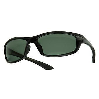 Rectangular Athletic Sports Polarized Sunglasses
