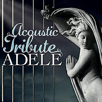Various Artist - tributo acústico a importación USA Adele [CD]