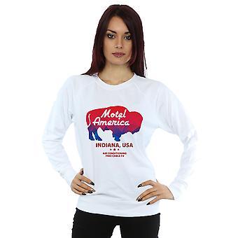 Amerikan Tanrıları Kadınlar's Motel Buffalo Sweatshirt