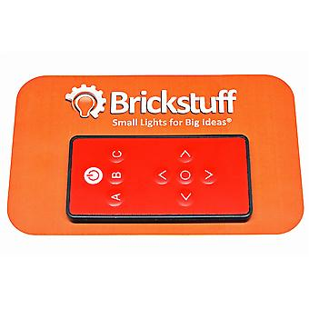 Brickstuff Infrared Remote Control (9 Buttons) for IR Lighting Effect Controllers - ACORN04
