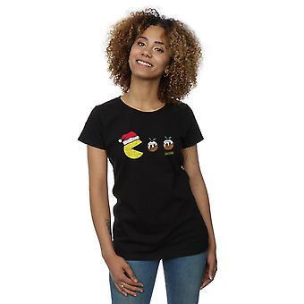 Pacman Women's Christmas Puddings T-Shirt