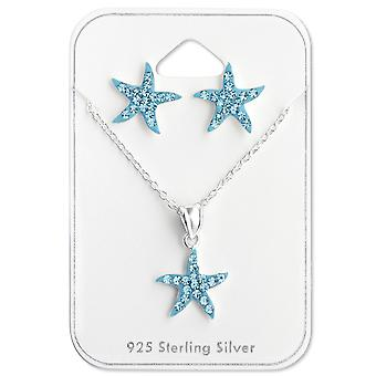 Starfish - 925 Sterling Silver Sets - W28982X