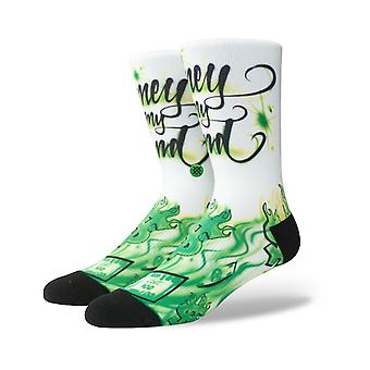 Stance Airbrush Money Crew Socks in Multi
