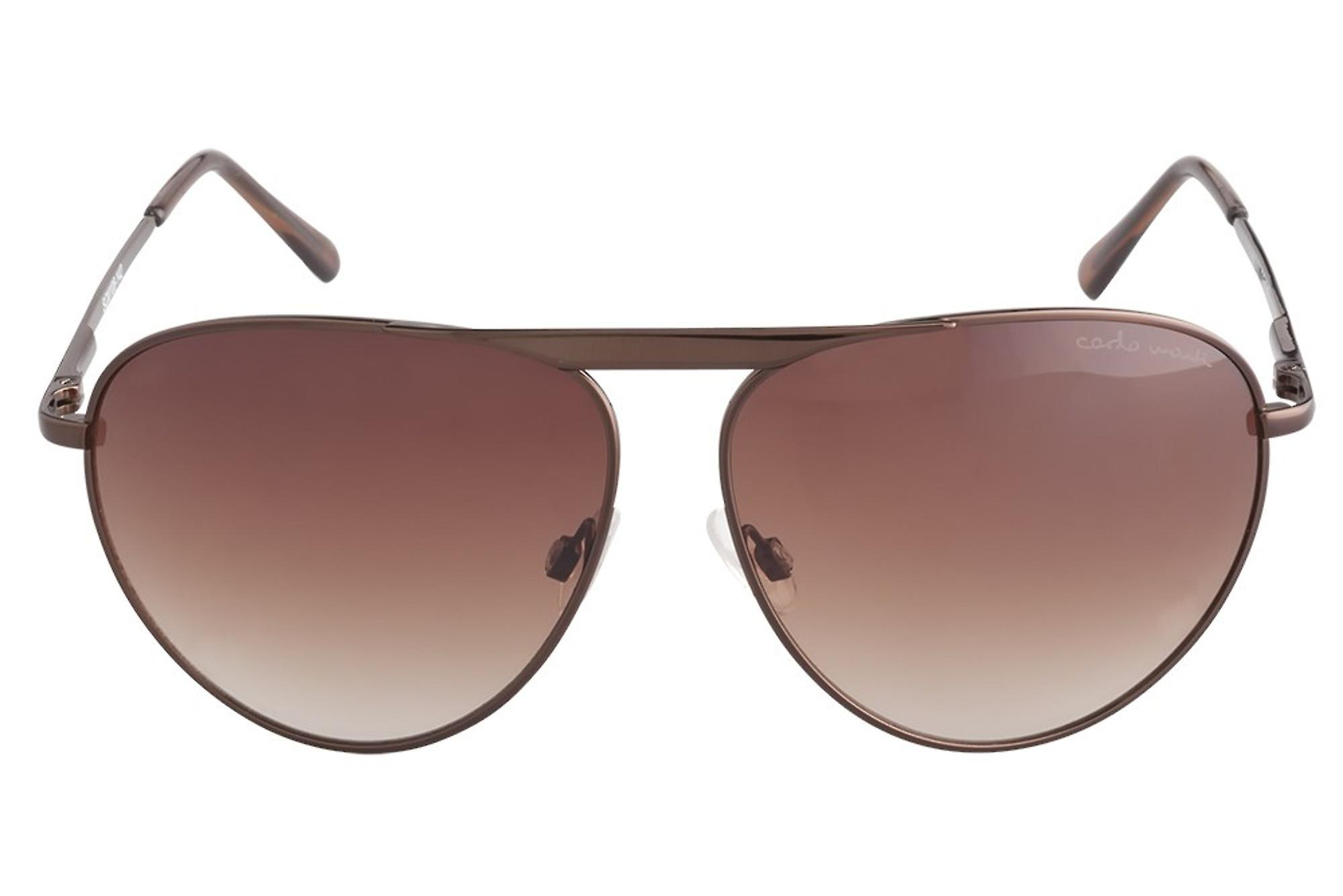 Classic sunglasses for men by Carlo Monti with 100% UV protection | sturdy metal frame, high quality sunglasses case, microfiber glasses pouch and 2 year warranty | SCM108-142 Modena