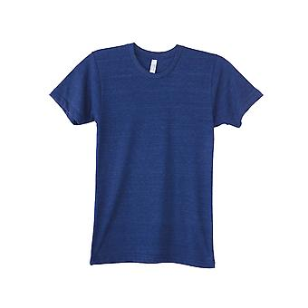 American Apparel Mens Triblend Track Tee