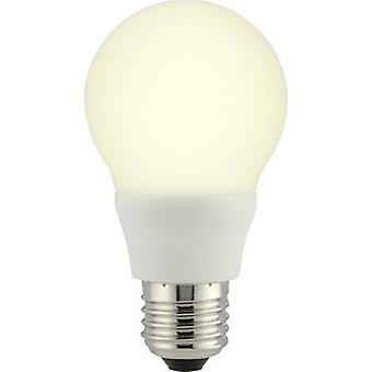 Sygonix LED (monochroom) EEC A+ (A++ - E) E27 Random 6.5 W = 40 W Warm wit (Ø x L) 60 mm x 110 mm 1 pc(s)