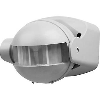 Smartwares 10.017.09 Surface-mount PIR motion detector 180 ° Silver IP44