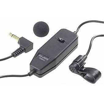 Renkforce TCM-141 Clip Speech microphone Transfer type:Corded incl. clip, włącznie z filtrem pop