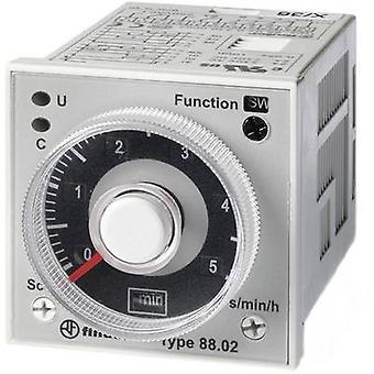 Finder 88.02.0.230.0002 TDR multifunksjon 1 PC (er) tidsrom: 0,05 s-100 h 2 Skift-overs