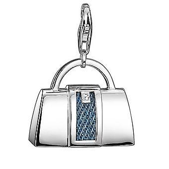 Esprit S925 Charm Denim Bag Xl ESZZ90730