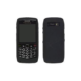 5 Pack -OEM BlackBerry Pearl 3G 9100 9105 Rubberized Silicone Skin Case, Black