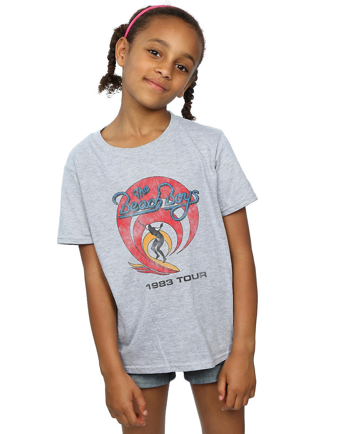 Beach Boys Girls Surfer 1983 T-Shirt