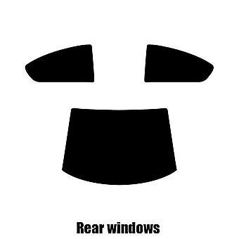 Pre gesneden venster tint - Chrysler Sebring Coupe - 2001 tot 2006 - achterzijde windows