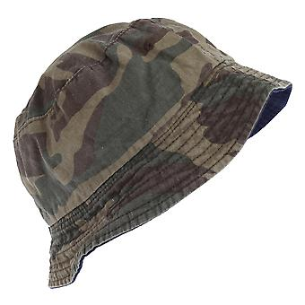 Tom Franks Mens Camo Bucket Summer Hat