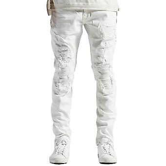 Embellish Becky Denim Jeans in White