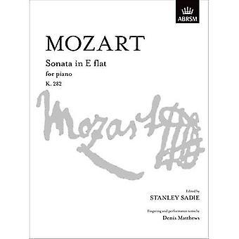Mozart-Sonate in E flach K. 282 (S. Signatur)