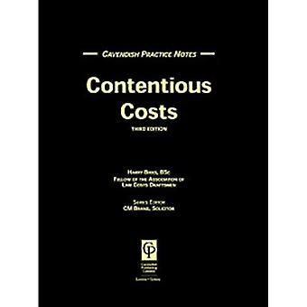 Practice Notes on Contentious Costs