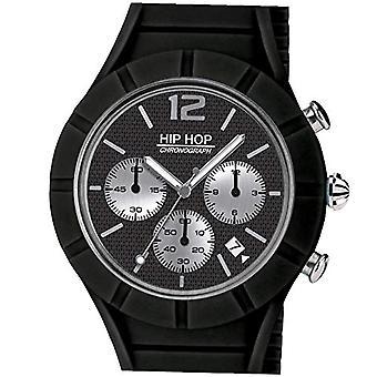 Hip Hop men's Quartz Watch with Silicone Strap HWU0657