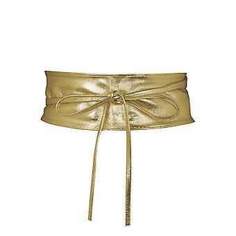 KRISP  Tie 'Round PU Leather Waist Cinch Belt