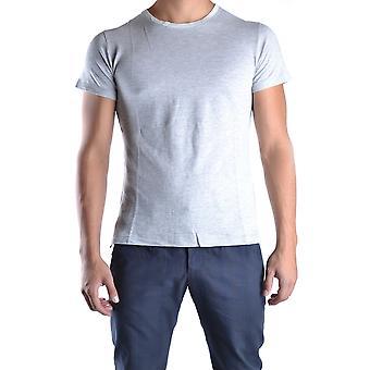 Yohji Yamamoto Ezbc106003 Men's Grey Cotton T-shirt
