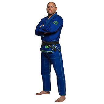 Fuji urheilu Mens Superaito Jiu Jitsu GI-Royal Blue
