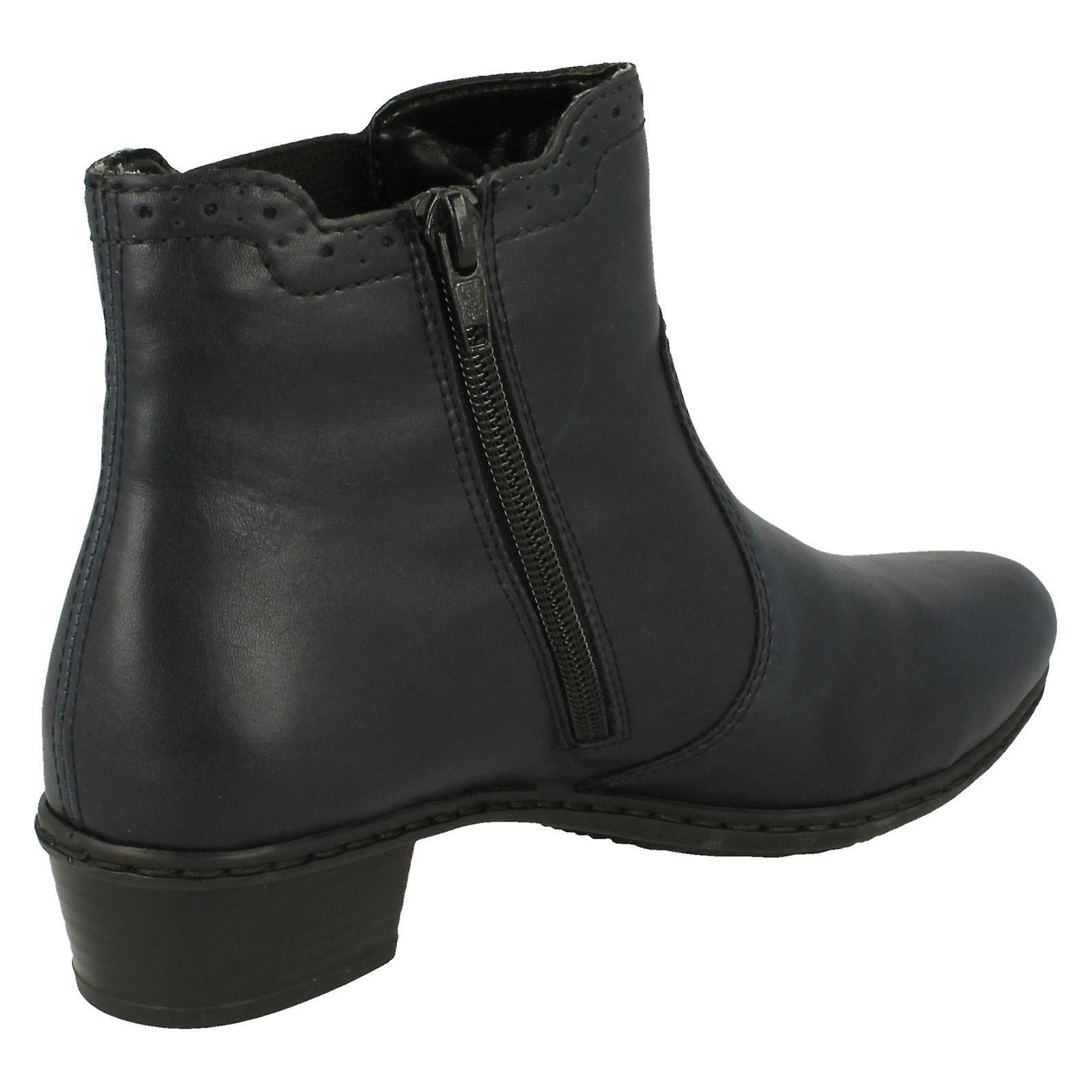 Damskie Rieker Fleece Lined kostkę buty Y0771 7eeNY
