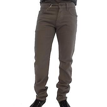 Raf Simons Ezbc162003 Pantalon en coton gris