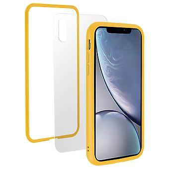 Apple iPhone XR Case, Changable Bumper + Rear, Yellow, Rhinoshield