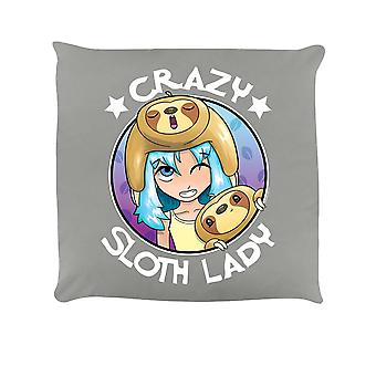 Grindstore pazzo Sloth Lady cuscino