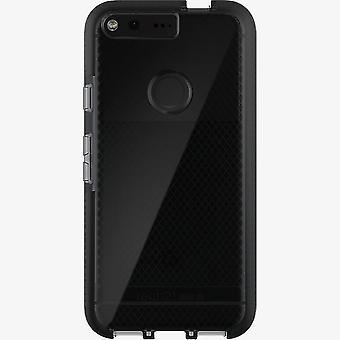 Tech21 Evo Check FlexShock Case for Google Pixel - Smokey/Black