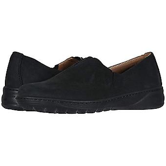 David Tate Womens Celine Leather Closed Toe Clogs