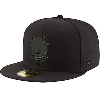 New Era 59Fifty Cap - NBA BLACK Golden State Warriors