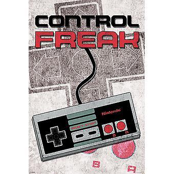 Poster - Studio B - Nintendo - Control Freak 36x24