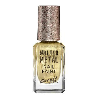Barry M Molten metallo Nail Paint-Oro Digger