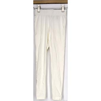 Slimming Options for Kate & Mallory Shape Control White Leggings A408576