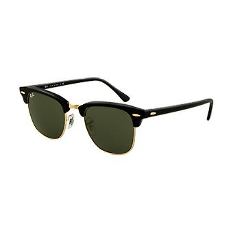 Ray-Ban Clubmaster Classic Black/Golden Green G-15