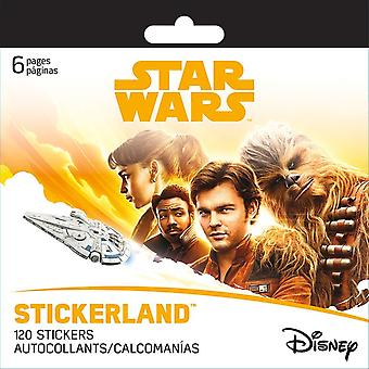 Mini Stickerland Pad 6 pages - Star Wars Han Solo New st2354