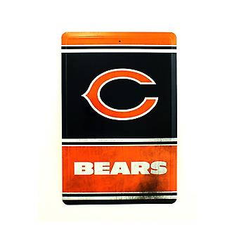 Chicago Bears NFL Team Logo Tin Sign