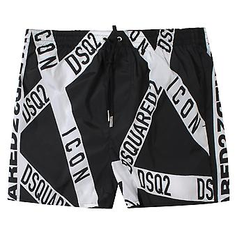 Dsquared2 Punk Logo Swimshorts