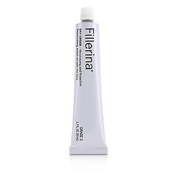 Fillerina Day Cream (moisturizing & Protective) - Grade 2 - 50ml/1.7oz