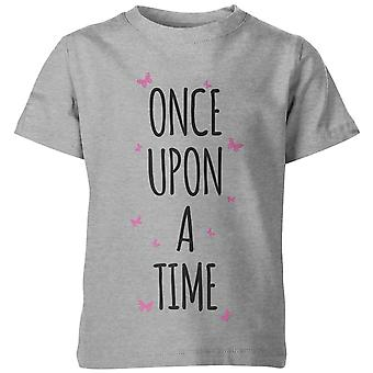 My Little Rascal Once Upon A Time Kid's Grey T-Shirt