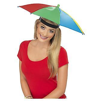 Volwassenen paraplu Hat Fancy Dress accessoire