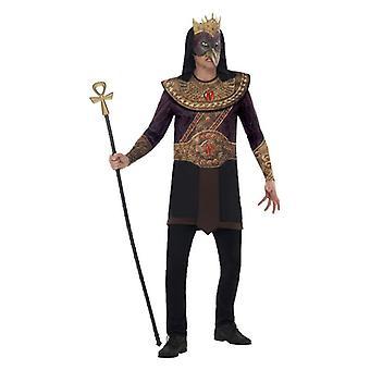 Mens Horus, Deus do céu fantasia vestido traje